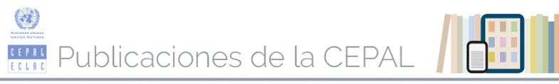 Banner Publicaciones de la CEPAL